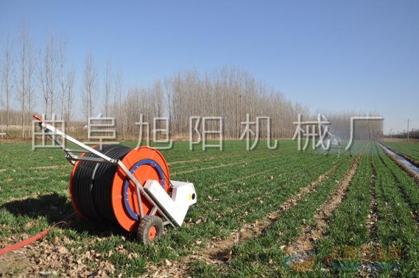 旭阳热销50-180喷灌机可移动绞盘式农业植保防尘场所下喷水机节水省时