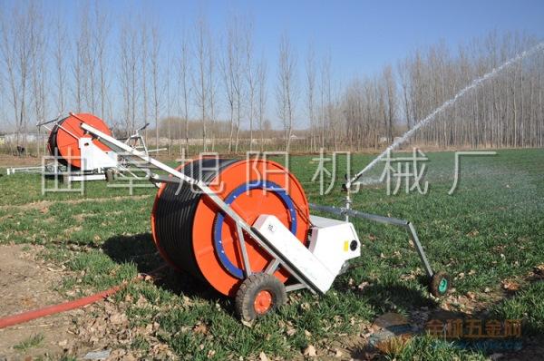 山东旭阳JP50/180喷灌机移动式喷灌机绞盘式浇地机