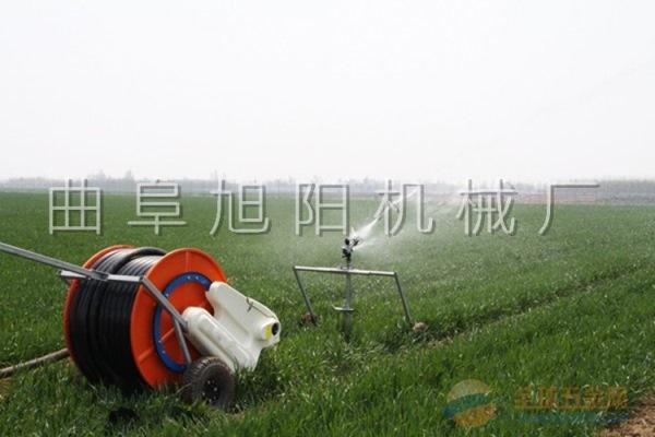 推荐旭阳50-180型绞盘式喷灌机 农业排灌设备 自走式浇地机