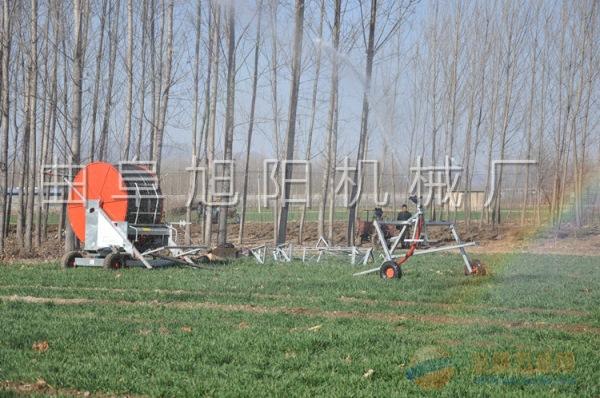 卷盘式75-300喷灌机农用大型小麦等农作物浇地机灌溉机