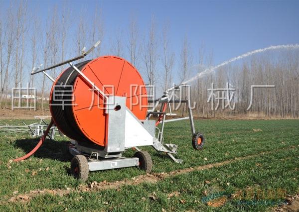 大型75-300大型喷灌机 浇地喷水机 农田大棚灌溉机卷盘式可移动