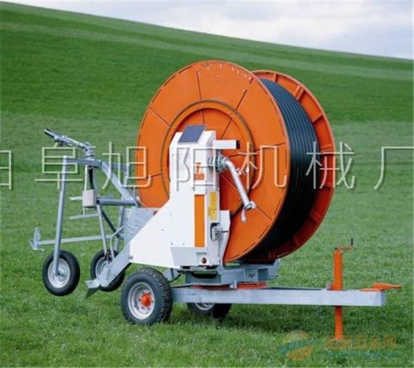 推荐JP75-300大型卷盘式农用喷灌机浇地喷水机果园喷水机