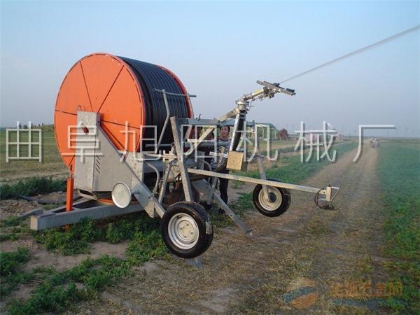 小型灌溉机械JP75-300型喷灌机 旭绞盘式喷灌机 移动式小型喷灌机