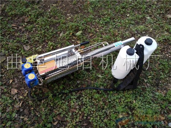 120A脉冲式弥雾机双管小麦玉米大棚果树农用打药喷雾机