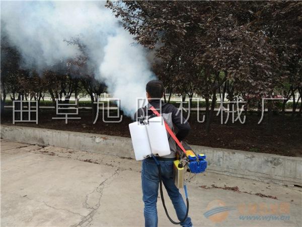 120B脉冲式弥雾机打药机双管烟雾水雾一体