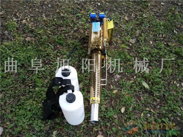 180锂电脉冲式烟雾机双管打药杀虫机消毒喷雾器两用