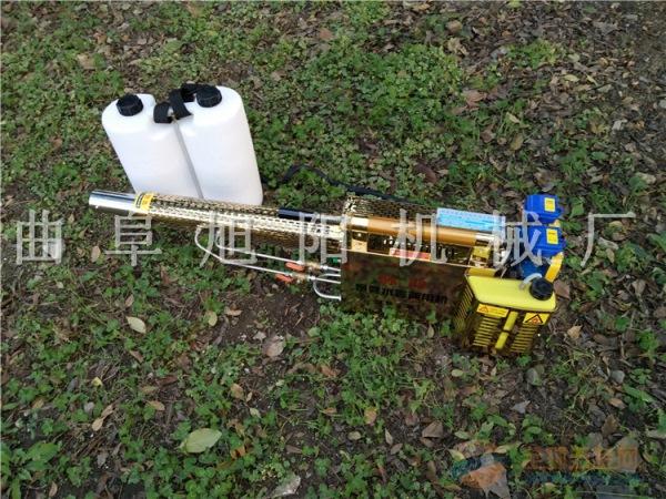 推荐180K版冲式弥雾机双管打药机杀虫机喷雾器迷雾