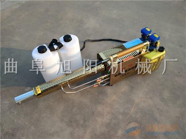 推荐180锂电版脉冲式弥雾机双管烟雾水雾两用杀虫机迷雾