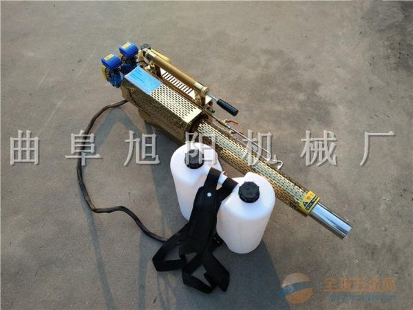 推荐180K 脉冲式弥雾机双管打药杀虫机喷雾器消毒机迷雾