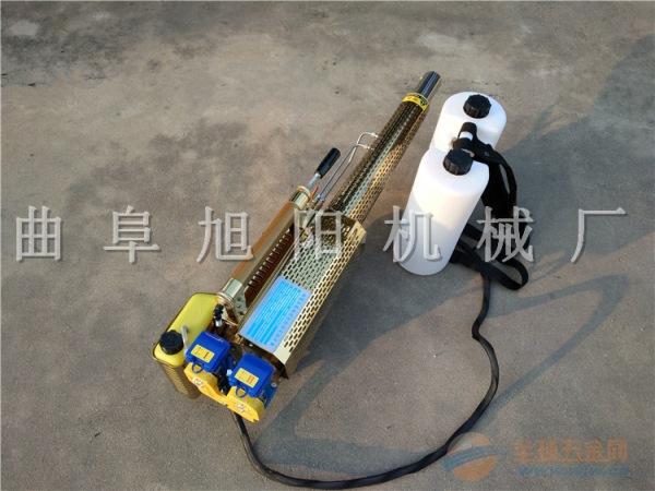 推荐180锂电脉冲式弥雾机双管烟雾水雾两用迷雾杀虫机