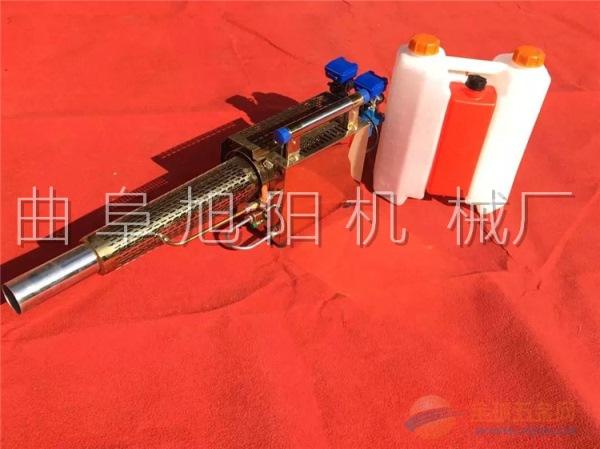 180锂电板弥雾机双管打药机 喷雾机 槟榔树杀虫消毒机