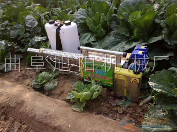 180K轻便版脉冲式双管玉米水稻杀虫机消毒机喷雾器杀虫机