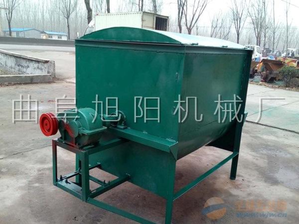 家用200公斤卧式干湿饲料搅拌机猪鸡牛羊预混料颗粒拌料机