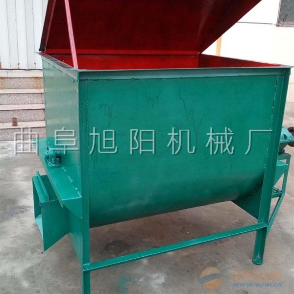 厂家直销旭阳大型养殖场专用饲料草粉搅拌机 卧式搅拌机