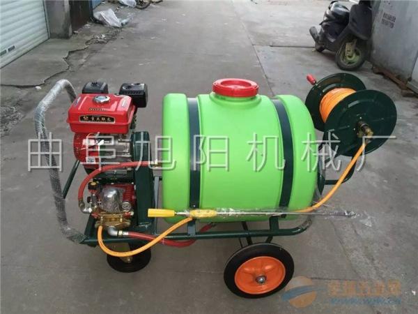 推荐160升 拉管式汽油打药机高压手推式消毒除尘机