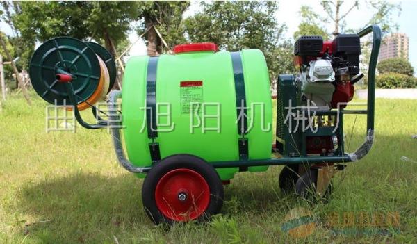 推荐100L拉管式推车打药机汽油杀虫机喷雾器