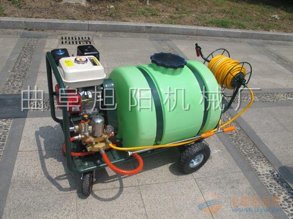 100升推车打药机拉管式高压杀虫机喷雾器消毒机除尘机