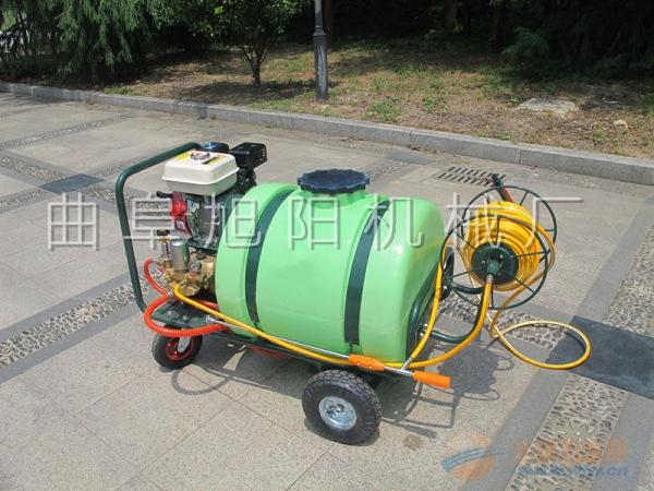 推荐100L 拉管式打药机杀虫喷雾除尘机汽油杀菌机
