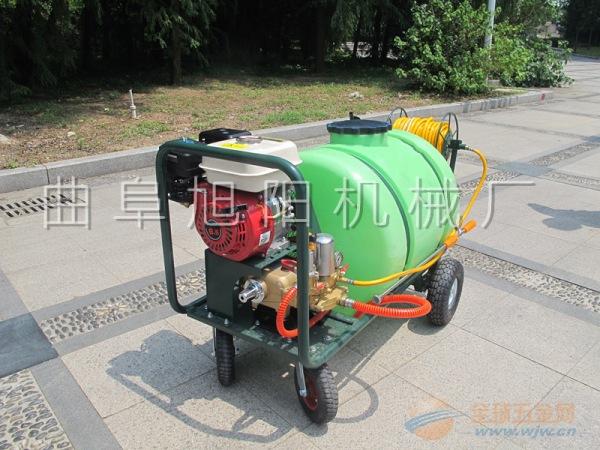 推荐100升高压拉管式打药机杀虫机喷雾器消毒除尘机