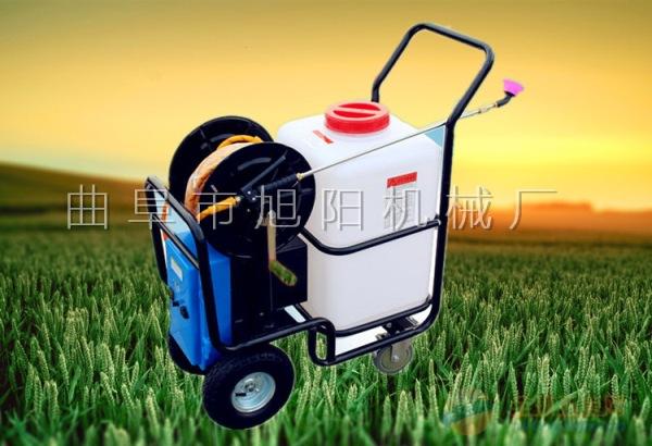 新款农用电动喷雾器 多功能农用喷药机 手推式电动打药机