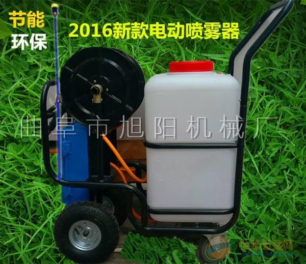 60升电动打药机小麦果园大棚花圃喷药机