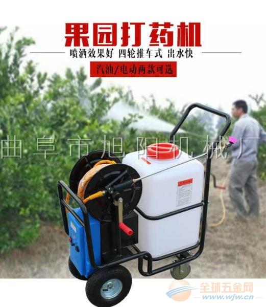 电动喷雾器手推式打药机高压园林农用打药机