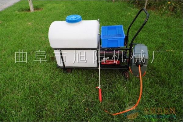 推荐105升 杀虫机自动回管打药机手推式喷雾器 拉管式消毒杀菌机