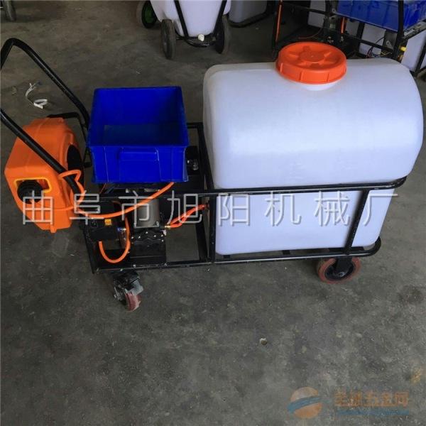 厂家直销105升拉管式自动回管果树杀虫喷雾器大棚消毒杀菌机