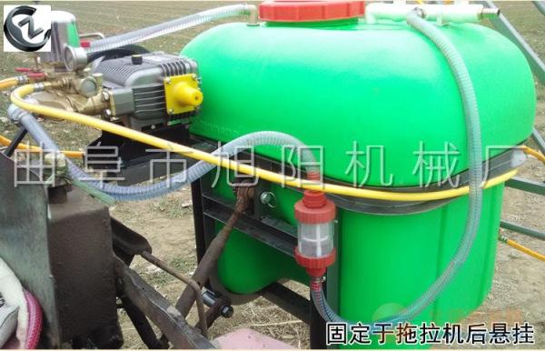 推荐350L悬挂式打药机杀虫皮带传动喷雾器喷药多喷头