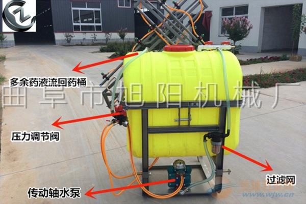 350升悬挂式打药机喷雾机杀虫机皮带传动喷药机大型农用