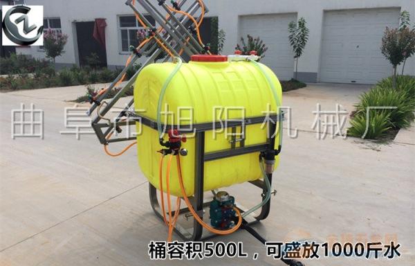 厂家直销350升皮带传动打药机拖拉机后置杀虫喷雾器