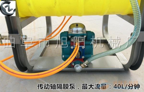 350升轴传动悬挂式打药机拖拉机后置喷雾机杀虫多喷头