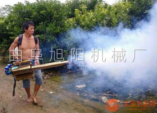 180普通版脉冲式弥雾机 双管大棚杀虫喷雾器 果园农田烟雾机