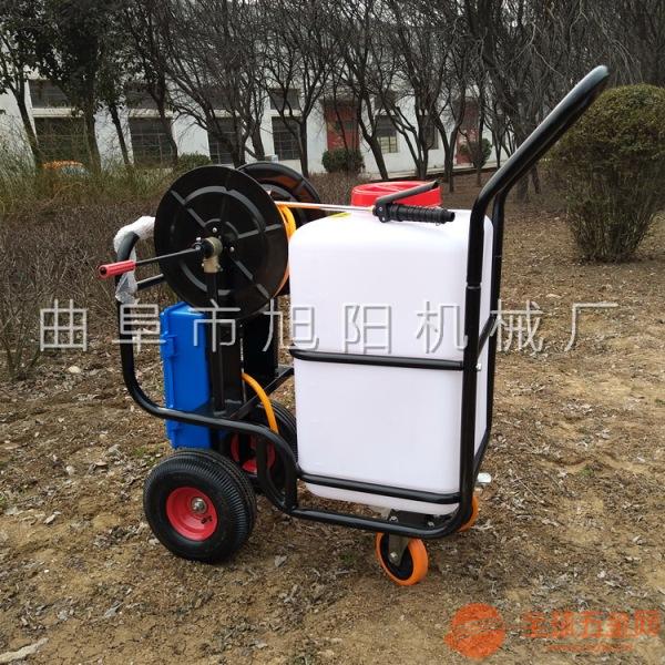 山东旭阳厂家定制60L电动打药机城市绿化带杀虫喷雾机
