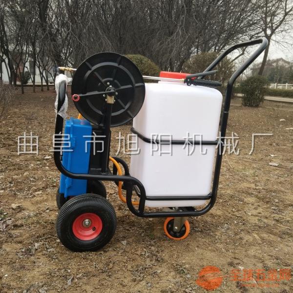 四轮电动喷雾器农用喷药机园林病害防治打药机旭阳直销
