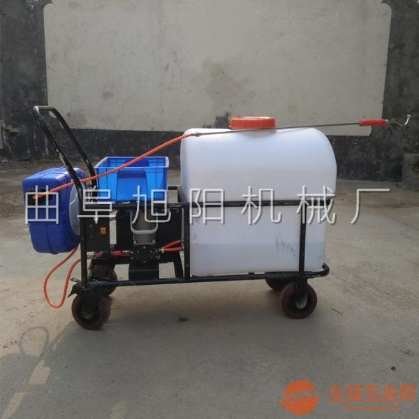 推荐105L自动回管杀虫机 拖拉机后置喷雾器 推车式消毒杀菌机-
