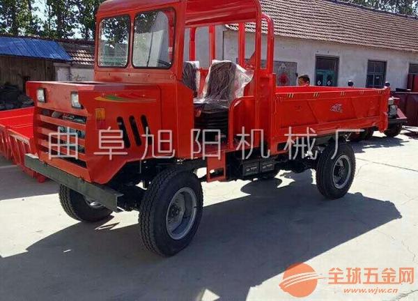柴油四轮运输车农用车四不像车液压自卸四驱爬山虎