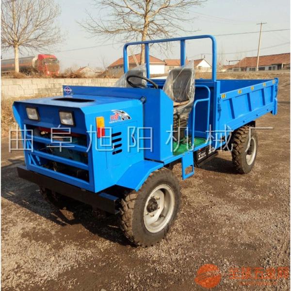 厂家热销25马力柴油四驱运输车液压双顶农用拉粮车山区施工运输车