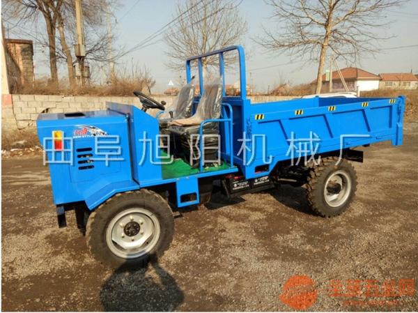 新款四轮柴油农用运输车四驱自卸工程车山区爬坡拉货车3T四不像