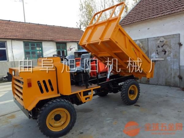 厂家直销四不像农用车四轮四驱工程自卸车柴油矿用拉砖车