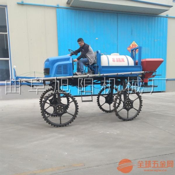 厂家直销500升自走式大型柴油四轮农田小麦打药车喷药杀虫机