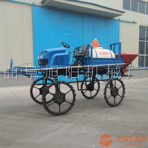 500自走式打药机 水旱两用 小麦玉米水稻杀虫机 大型喷药车