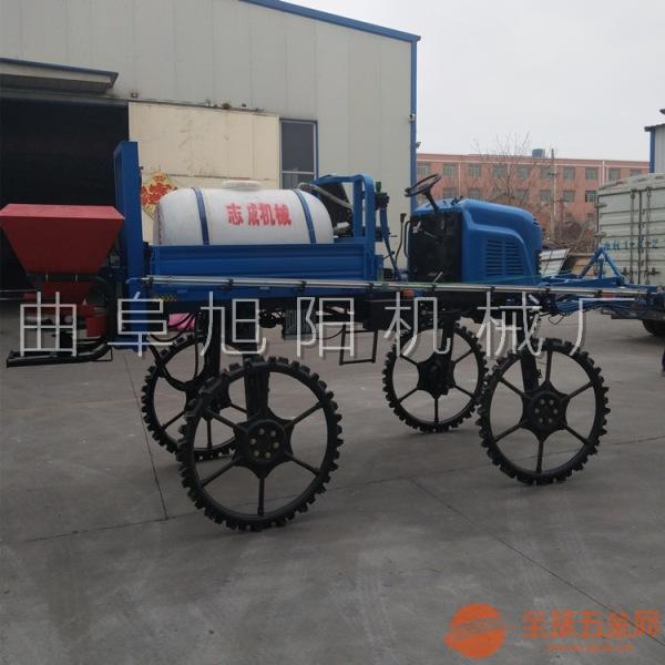 直销500升自走式打药机旱田喷药机农田小麦菜园杀虫机打药车