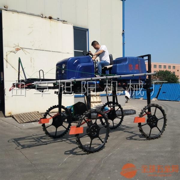 推荐700升大型喷雾器自走式杀虫机水旱两用杀虫机水稻小麦玉米杀虫机