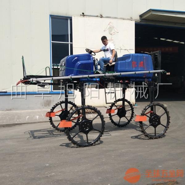 大型四轮打药机 水旱两用玉米水稻小麦杀虫机 柴油四轮四驱喷药车