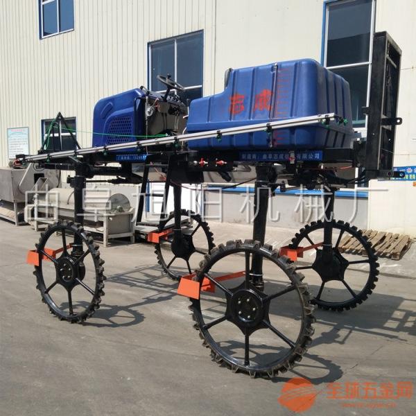 厂家供应52马力四轮打药机自走式喷杆喷雾机水旱两用打药机