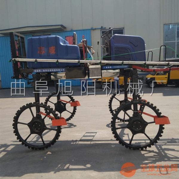 直销700升 自走式打药机 水旱两用杀虫机 柴油四轮四驱洒药机