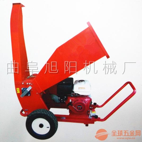 厂家直销13马力树枝粉碎机 汽油可移动式家用碎枝机