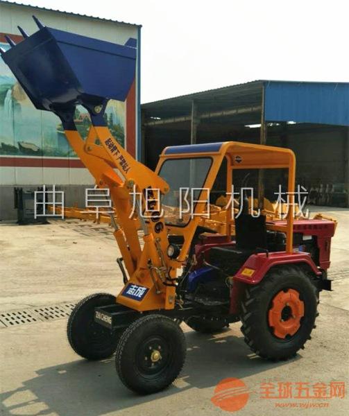 旭阳直销06型农用装载机路面施工铲车搅拌站上料装载机