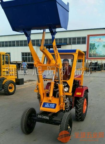 厂家热销柴油两驱轮式装载机工地混凝土运输车矿用小铲车